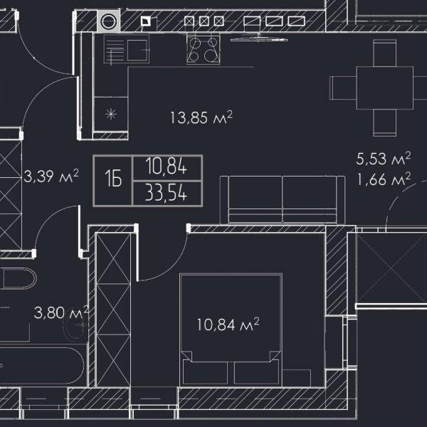 Квартири в Рівне Епіцентр 1,2 кімнатні